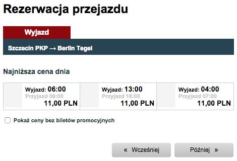 Interglobus bilety po 11 zl