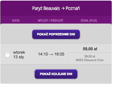 Poznan Paryz B 10-01-2015 b