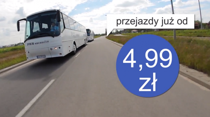 PKS Szczecin: Nocny bus ze Szczecina na lotniska w Berlinie