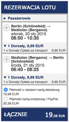 2015-01-02 Berlin Mediolan ryanair
