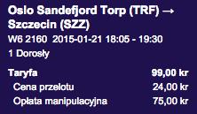 Szczecin - Lizbona - Szczecin 250 zl 5