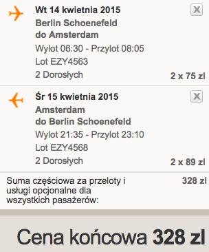 2015-04-14 Amsterdam z Berlina tanio