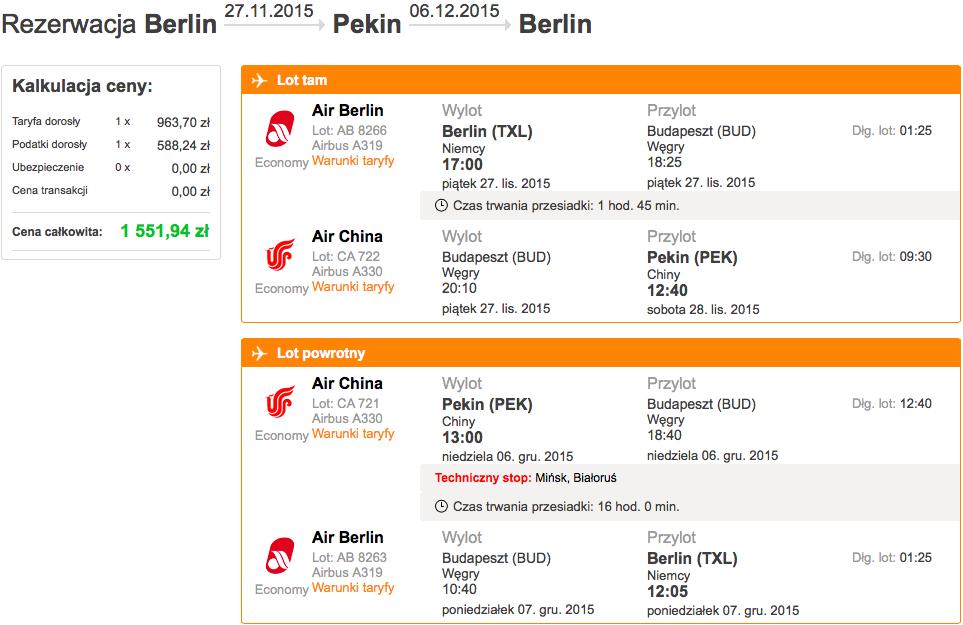 2015-11-27 Berlin Pekin Chiny air berlin air china