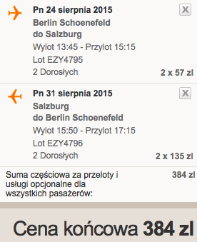 2015-07-24 Salzburg Berlin easyjet wakacje