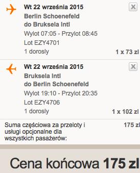 2015-09-22 Berlin SXF Bruksela BRU samotnie