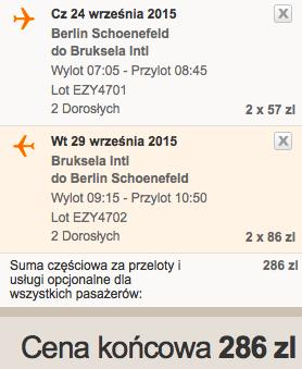 2015-09-24 Berlin SXF Bruksela BRU kilka dni