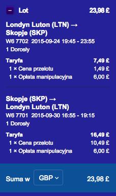 2015-09-24 Szczecin Londyn Skopje Wizz Air LTN SKP dluzej