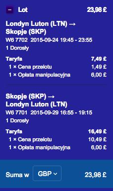 2015-09-24 Szczecin Londyn Skopje Wizz Air LTN SKP krocej