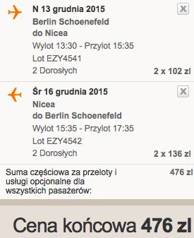 2015-11-13 Berlin Schonefeld Nicea Francja easyjet krocej