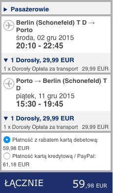 2015-12-02 Berlin Porto na Azory ryanair dluzej krocej