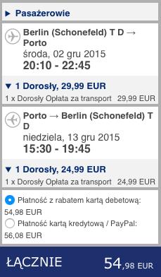 2015-12-02 Berlin Porto na Azory ryanair dluzej