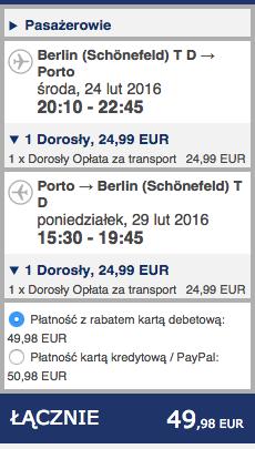 2016-02-24 Berlin Schonefeld Porto Ryanair 210 zl