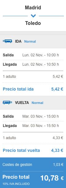 2015-10-30 Madryt Toledo Alsa 45 zl RT