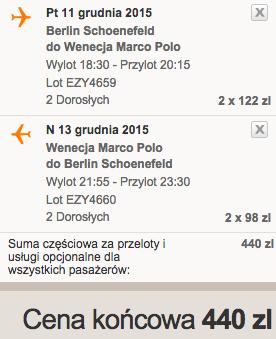 2015-12-11 Berlin Wenecja Wlochy weekend