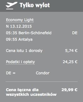 2015-12-13 Berlin Antalya Stambul Condor SunExpress Pegasus 1