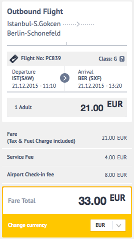 2015-12-13 Berlin Antalya Stambul Condor SunExpress Pegasus 3