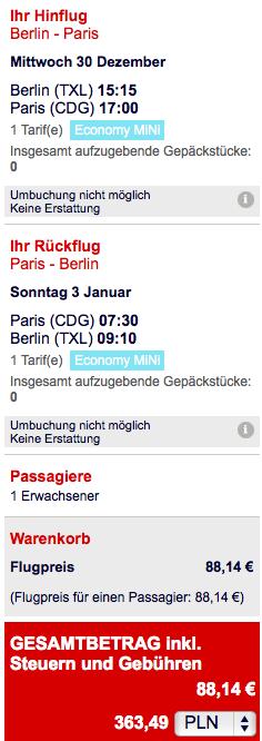 2015-12-30 Berlin Paryz Air France Sylwester