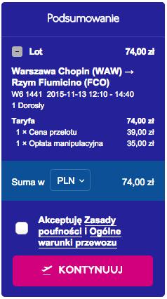 2015-11-13 Szczecin Berlin Bukareszt Rzym 327 zl 2