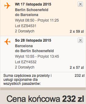 2015-11-17 Berlin Fuerteventura Wyspy Kanaryjskie 310 zl RT easyJet Ryanair 1