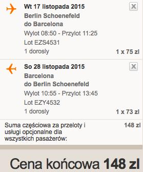2015-11-17 Berlin Fuerteventura Wyspy Kanaryjskie 310 zl RT easyJet Ryanair 5
