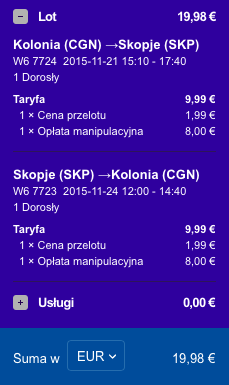 2015-11-17 Berlin Kolonia Skopie Macedonia 168 zl RT Ryanair Wizz Air 4