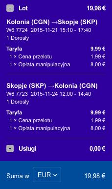 2015-11-17 Berlin Kolonia Skopie Macedonia 168 zl RT Ryanair Wizz Air 4