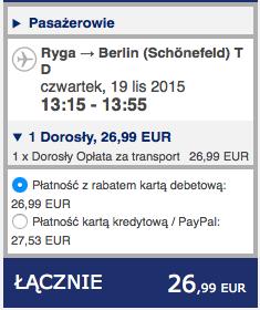 2015-11-17 Szczecin Bergen Ryga Berlin Ryanair Wizz Air 205 zl 3