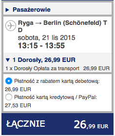 2015-11-17 Szczecin Bergen Ryga Berlin Ryanair Wizz Air 205 zl 4