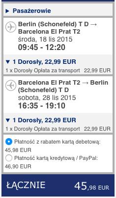 2015-11-18 Berlin Barcelona Gran Canraia Ryanair 410 zl RT 1