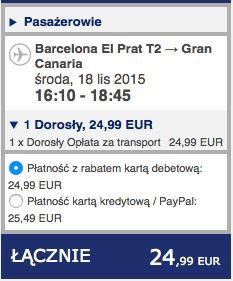 2015-11-18 Berlin Gran Canraia Las Palmas Ryanair 410 zl RT 2