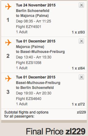 2015-11-24 Berlin Majorka Bazylea za 197 zl RT 2