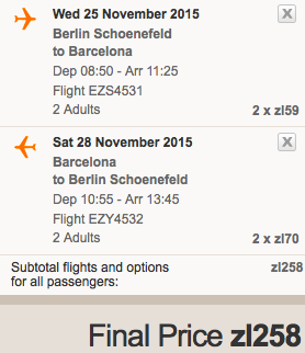 2015-11-25 Berlin Barcelona 129 zl RT easyJet 1