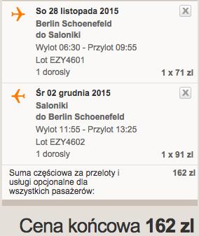 2015-11-28 Berlin Saloniki Grecja za 130 zl RT easyJet 3