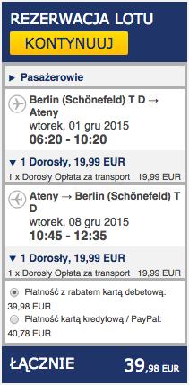 2015-12-01 Berlin Ateny Ryanair 170 zl RT