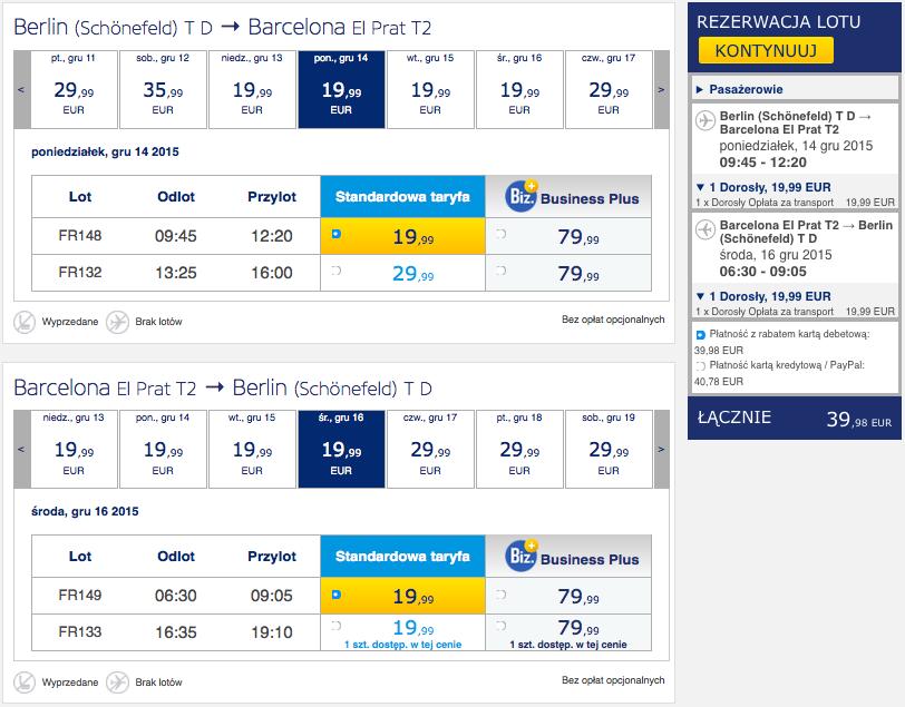 2015-12-04 Berlin Barcelona 170 zl RT Ryanair