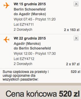 2015-12-15 Berlin Agadir Maroko 260 zl RT easyjet 1