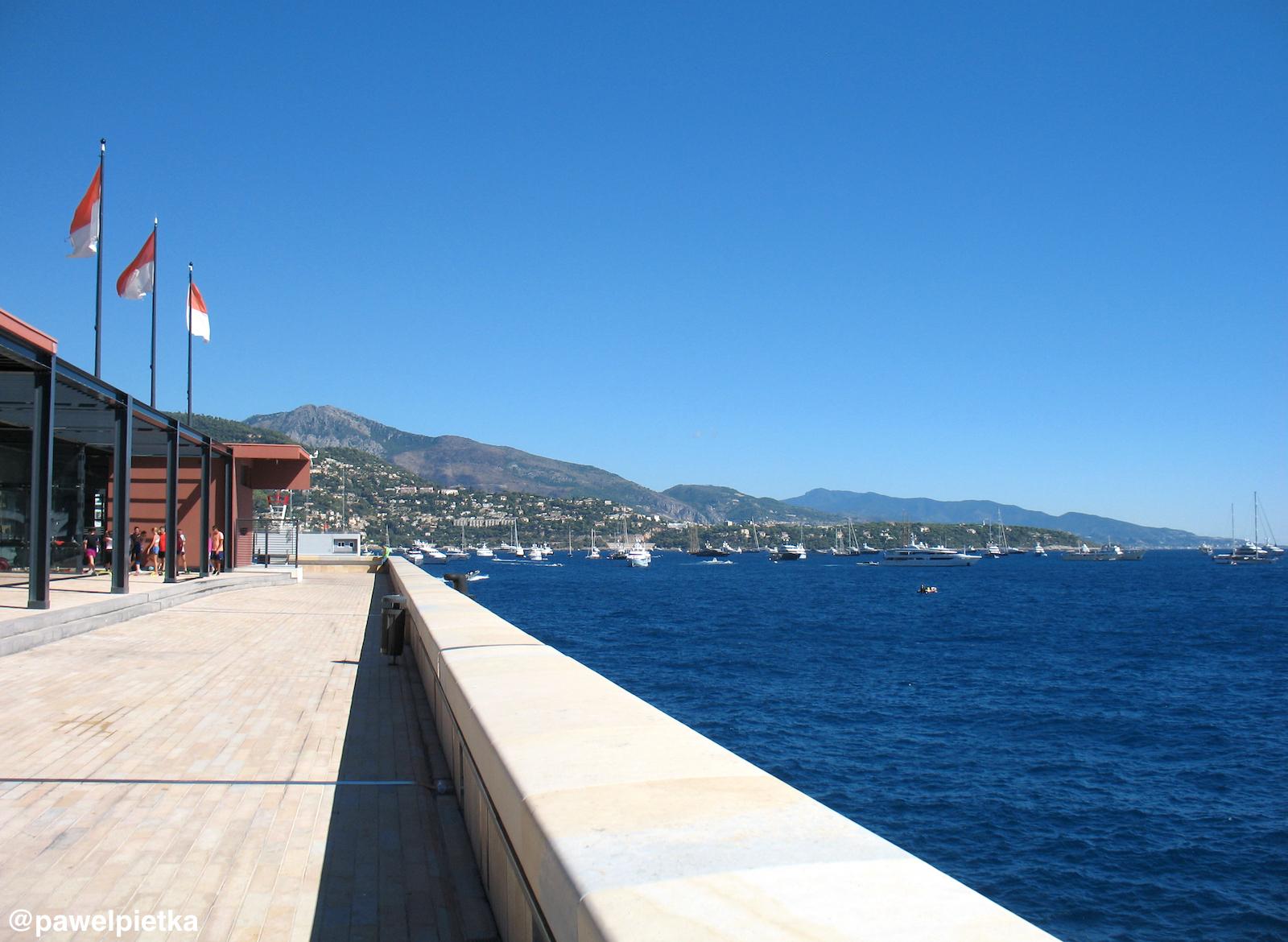 1 Ksiestwo Monako Marina Lazurowe Wybrzeze