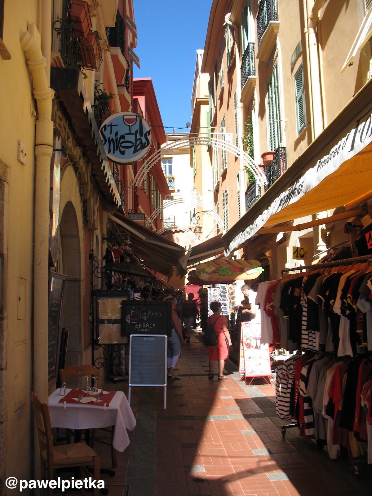 11 Monako Stare miasto uliczki 2