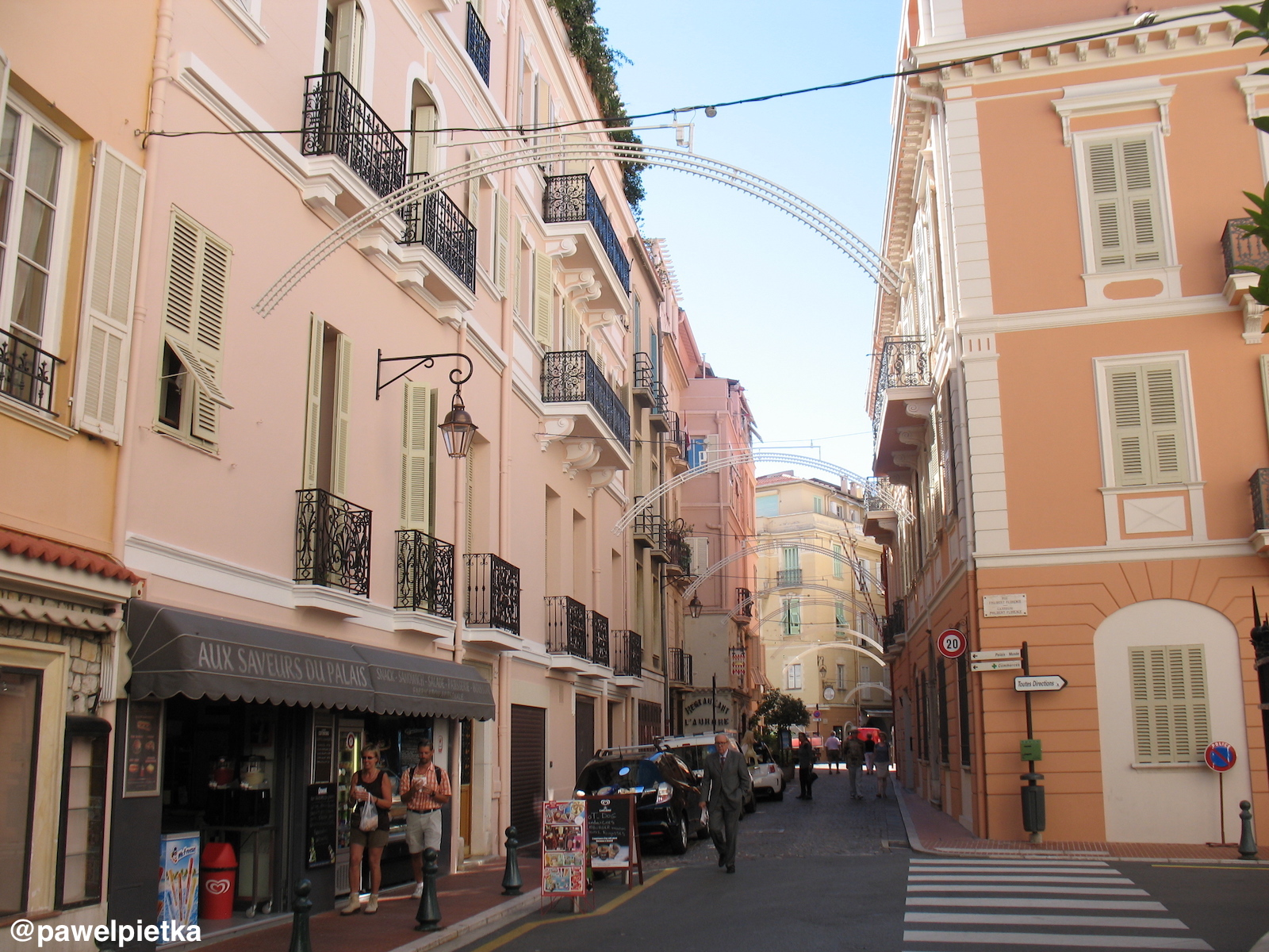 12 Monako Stare miasto uliczki 1