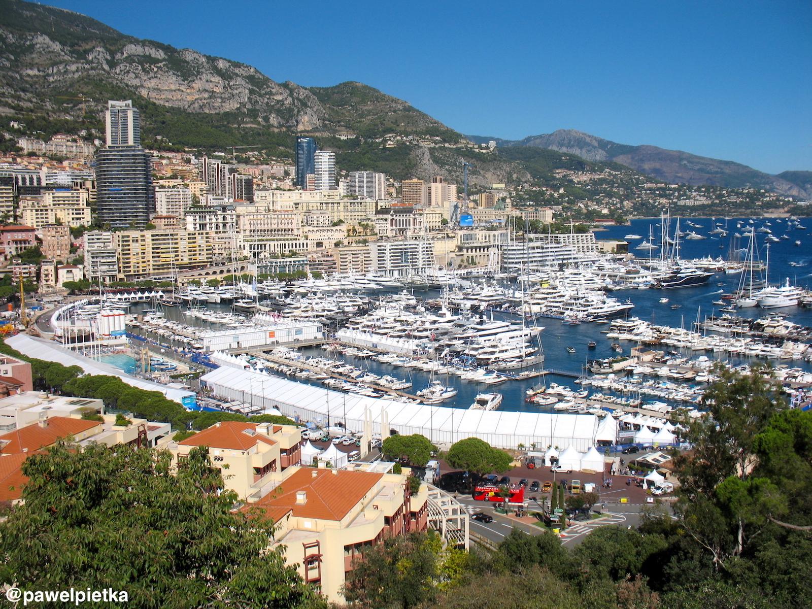 16 Monako widok miasto marina panorama 1