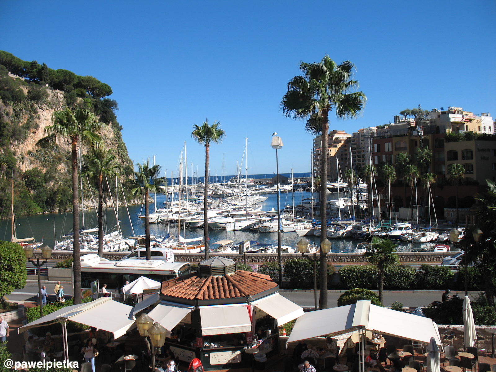 19 Monako marina Port de Fontvieille