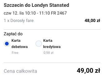 2015-11-12 Szczecin Rabat Fez Maroko za 236 zl RT Ryanair Tanie Loty 1