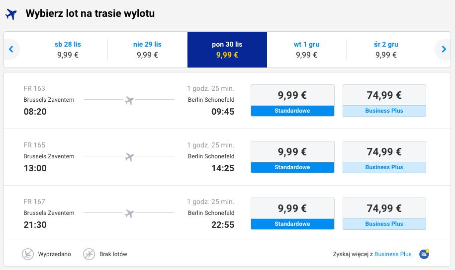 2015-11-26 Berlin Palma de Mallorca 129 zł RT Ryanair 3a