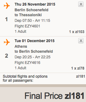 2015-11-26 Berlin Saloniki Chania Ateny 343 zl RT easyjet ryanair 4
