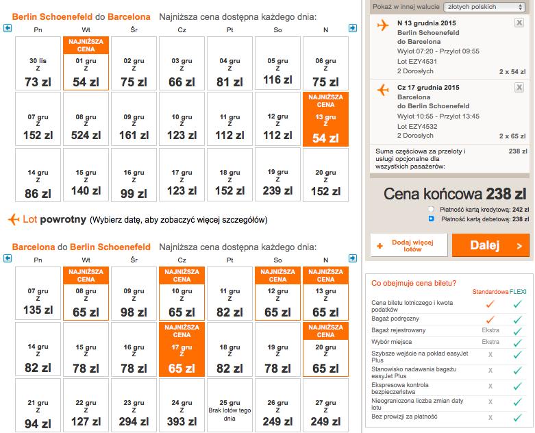 2015-12-13 Berlin Barcelona 119 zł RT easyJet grudzien 1