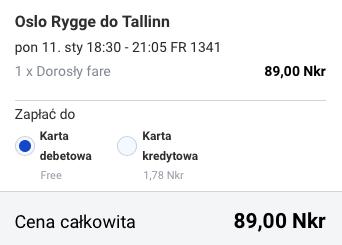 2016-01-11 Szczecin Oslo Tallinn Ryga za 185 zl RT Ryanair Simple Express 1