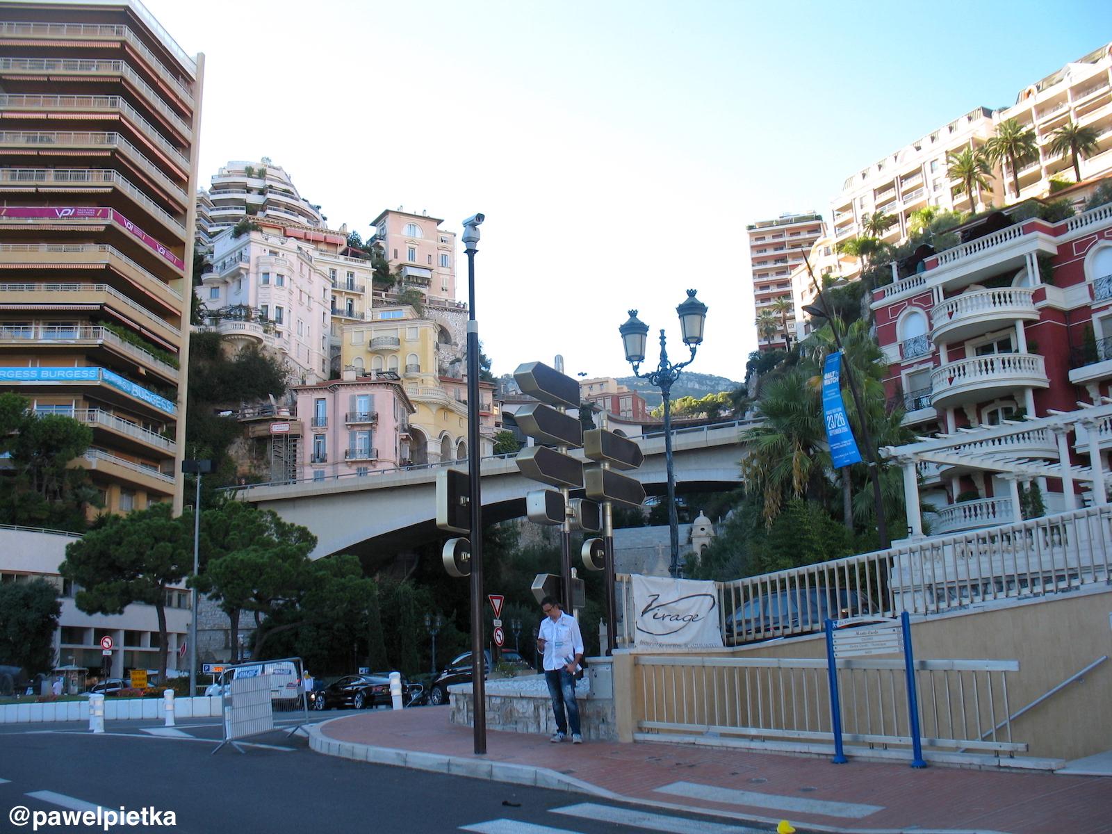 22 Monako Ravin de Sainte-Devote warstwy