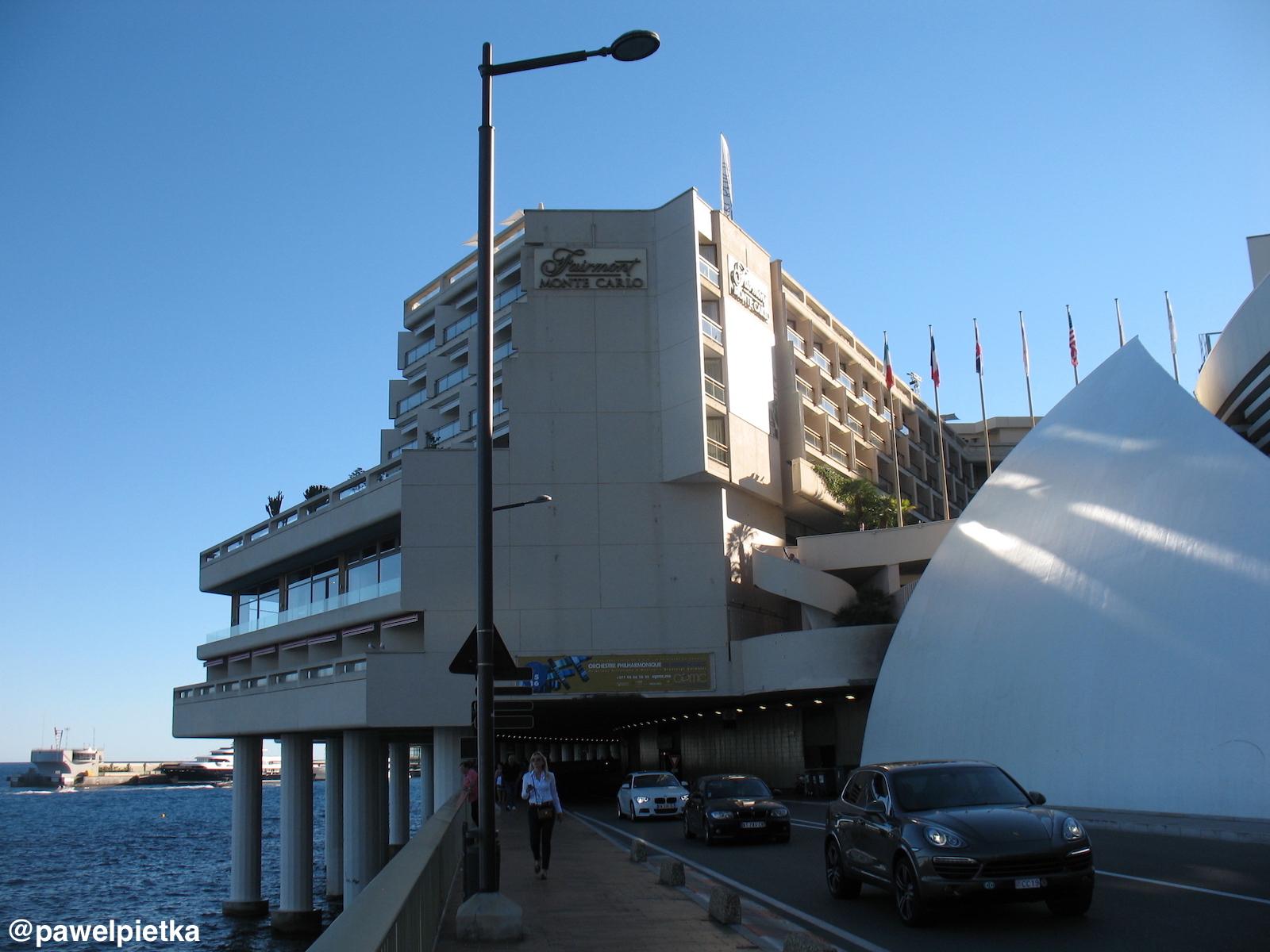 24 Monako Formula 1 Tunel Fairmont Hotel