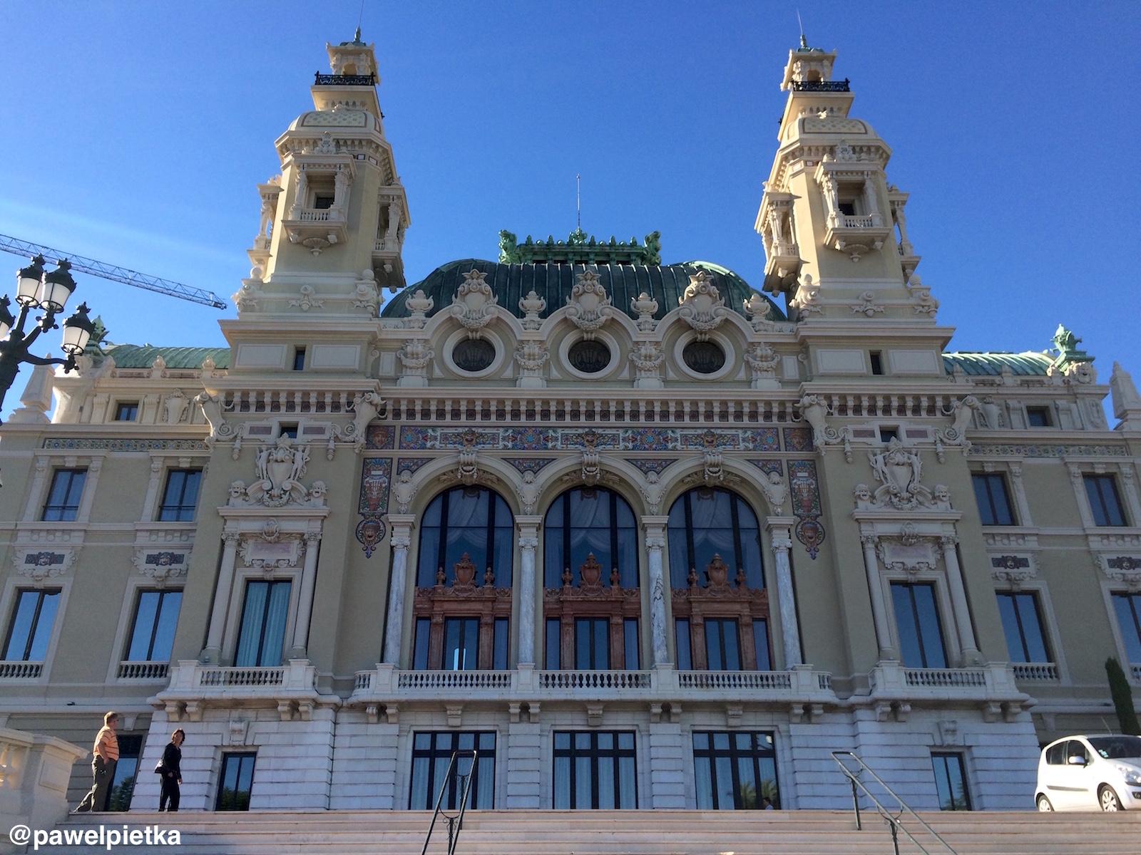 26 Monako Kasyno Monte Karlo Opera
