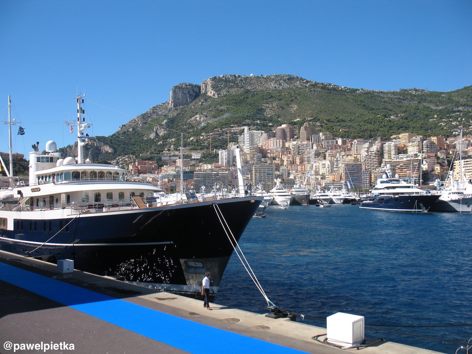 3 Monako Skala Marina Port Jachty